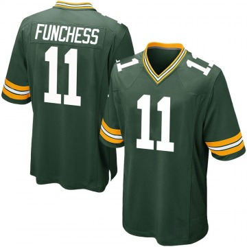Youth Nike Green Bay Packers Devin Funchess Green Team Color Jersey - Game