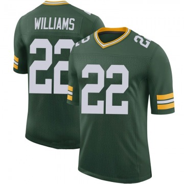 Youth Nike Green Bay Packers Dexter Williams Green 100th Vapor Jersey - Limited