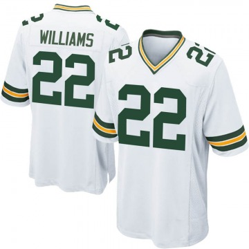 Youth Nike Green Bay Packers Dexter Williams White Jersey - Game