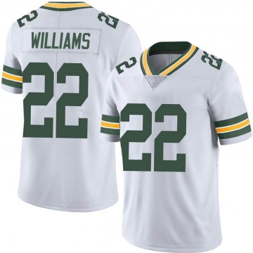 Youth Nike Green Bay Packers Dexter Williams White Vapor Untouchable Jersey - Limited