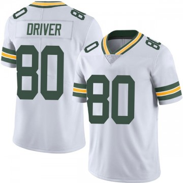 Youth Nike Green Bay Packers Donald Driver White Vapor Untouchable Jersey - Limited