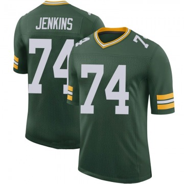 Youth Nike Green Bay Packers Elgton Jenkins Green 100th Vapor Jersey - Limited