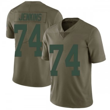 Youth Nike Green Bay Packers Elgton Jenkins Green 2017 Salute to Service Jersey - Limited
