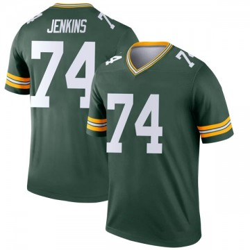 Youth Nike Green Bay Packers Elgton Jenkins Green Jersey - Legend