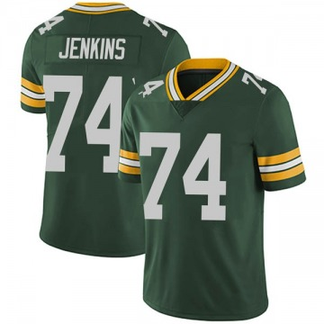 Youth Nike Green Bay Packers Elgton Jenkins Green Team Color Vapor Untouchable Jersey - Limited