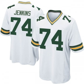 Youth Nike Green Bay Packers Elgton Jenkins White Jersey - Game