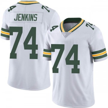 Youth Nike Green Bay Packers Elgton Jenkins White Vapor Untouchable Jersey - Limited