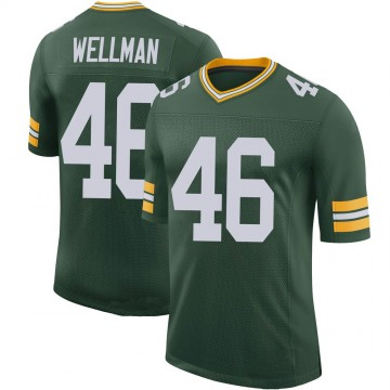 Youth Nike Green Bay Packers Elijah Wellman Green 100th Vapor Jersey - Limited