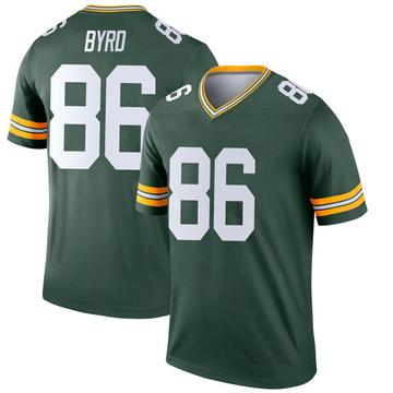 Youth Nike Green Bay Packers Emanuel Byrd Green Jersey - Legend