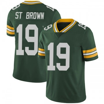 Youth Nike Green Bay Packers Equanimeous St. Brown Green Team Color Vapor Untouchable Jersey - Limited