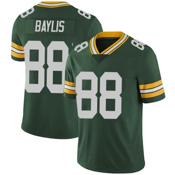 Youth Nike Green Bay Packers Evan Baylis Green Team Color Vapor Untouchable Jersey - Limited