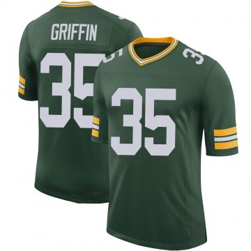 Youth Nike Green Bay Packers Frankie Griffin Green 100th Vapor Jersey - Limited