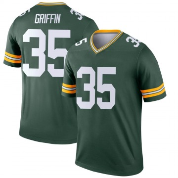 Youth Nike Green Bay Packers Frankie Griffin Green Jersey - Legend