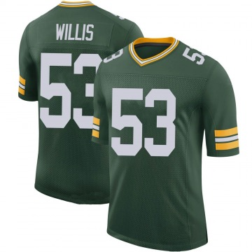 Youth Nike Green Bay Packers Gerald Willis III Green 100th Vapor Jersey - Limited