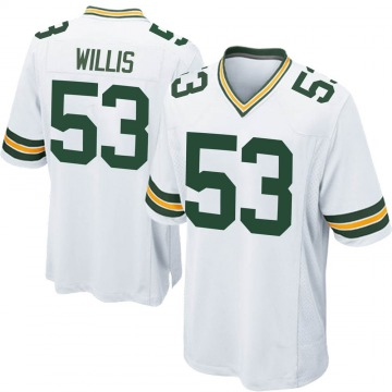 Youth Nike Green Bay Packers Gerald Willis III White Jersey - Game