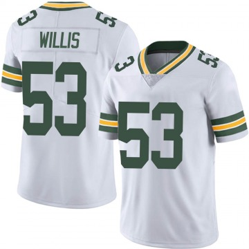 Youth Nike Green Bay Packers Gerald Willis III White Vapor Untouchable Jersey - Limited