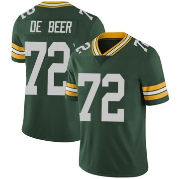 Youth Nike Green Bay Packers Gerhard de Beer Green Team Color Vapor Untouchable Jersey - Limited