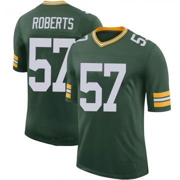 Youth Nike Green Bay Packers Greg Roberts Green 100th Vapor Jersey - Limited