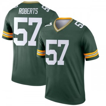 Youth Nike Green Bay Packers Greg Roberts Green Jersey - Legend