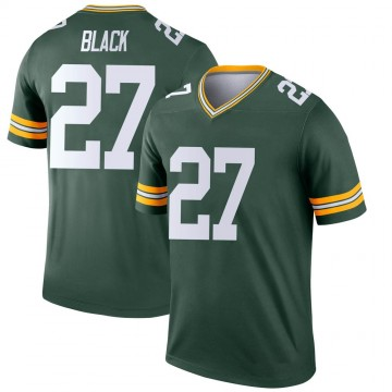 Youth Nike Green Bay Packers Henry Black Green Jersey - Legend