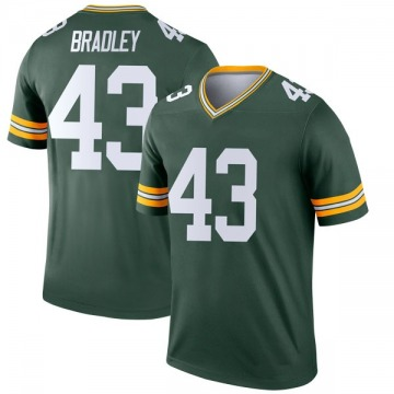 Youth Nike Green Bay Packers Hunter Bradley Green Jersey - Legend
