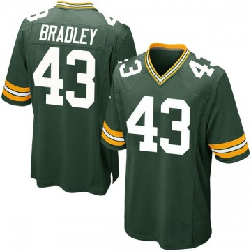 Youth Nike Green Bay Packers Hunter Bradley Green Team Color Jersey - Game