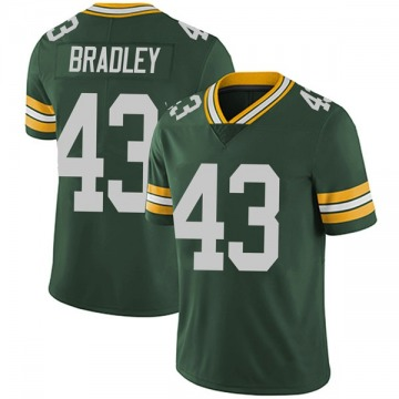 Youth Nike Green Bay Packers Hunter Bradley Green Team Color Vapor Untouchable Jersey - Limited