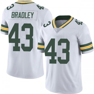 Youth Nike Green Bay Packers Hunter Bradley White Vapor Untouchable Jersey - Limited
