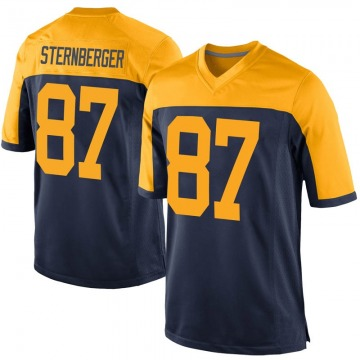Youth Nike Green Bay Packers Jace Sternberger Navy Alternate Jersey - Game