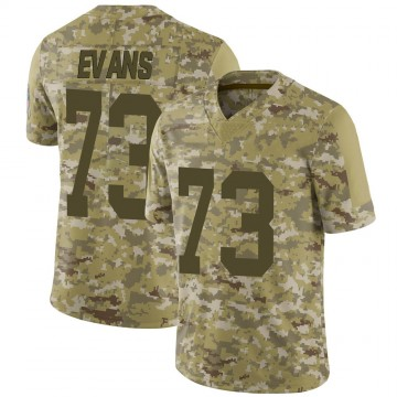 Youth Nike Green Bay Packers Jahri Evans Camo 2018 Salute to Service Jersey - Limited