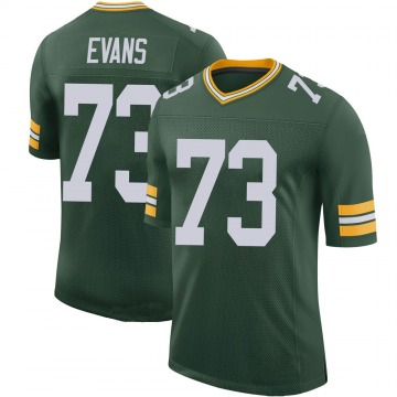 Youth Nike Green Bay Packers Jahri Evans Green 100th Vapor Jersey - Limited