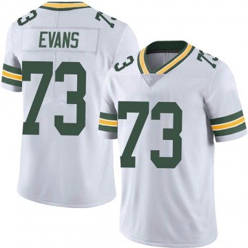 Youth Nike Green Bay Packers Jahri Evans White Vapor Untouchable Jersey - Limited