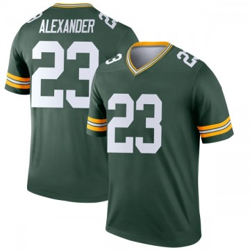 Youth Nike Green Bay Packers Jaire Alexander Green Jersey - Legend