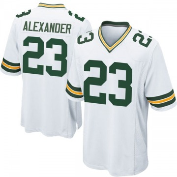 Youth Nike Green Bay Packers Jaire Alexander White Jersey - Game