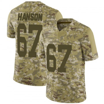 Youth Nike Green Bay Packers Jake Hanson Camo 2018 Salute to Service Jersey - Limited