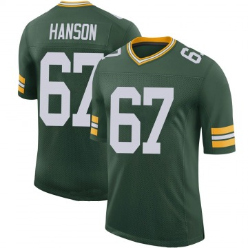 Youth Nike Green Bay Packers Jake Hanson Green 100th Vapor Jersey - Limited