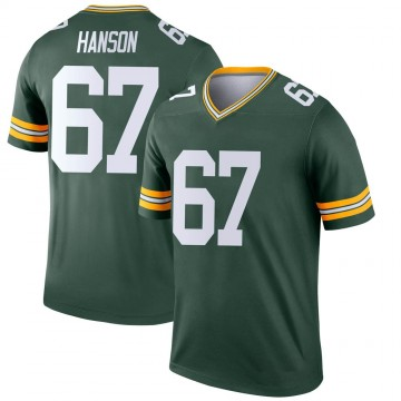 Youth Nike Green Bay Packers Jake Hanson Green Jersey - Legend