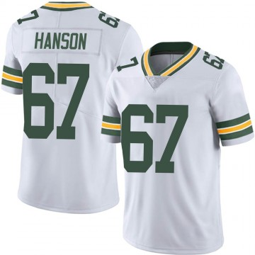Youth Nike Green Bay Packers Jake Hanson White Vapor Untouchable Jersey - Limited