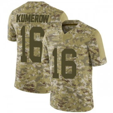 Youth Nike Green Bay Packers Jake Kumerow Camo 2018 Salute to Service Jersey - Limited