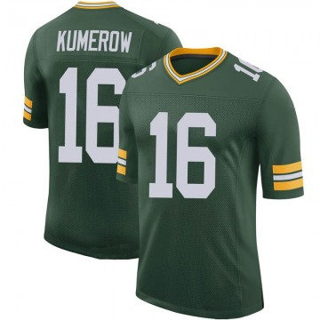 Youth Nike Green Bay Packers Jake Kumerow Green 100th Vapor Jersey - Limited