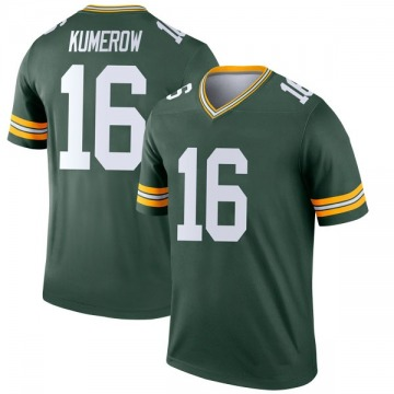 Youth Nike Green Bay Packers Jake Kumerow Green Jersey - Legend