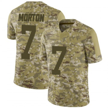 Youth Nike Green Bay Packers Jalen Morton Camo 2018 Salute to Service Jersey - Limited