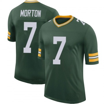 Youth Nike Green Bay Packers Jalen Morton Green 100th Vapor Jersey - Limited