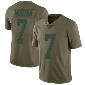 Youth Nike Green Bay Packers Jalen Morton Green 2017 Salute to Service Jersey - Limited