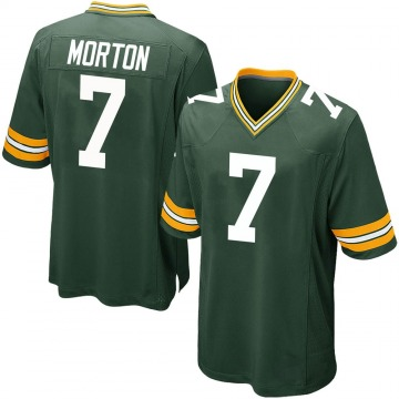 Youth Nike Green Bay Packers Jalen Morton Green Team Color Jersey - Game