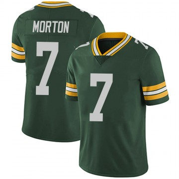 Youth Nike Green Bay Packers Jalen Morton Green Team Color Vapor Untouchable Jersey - Limited