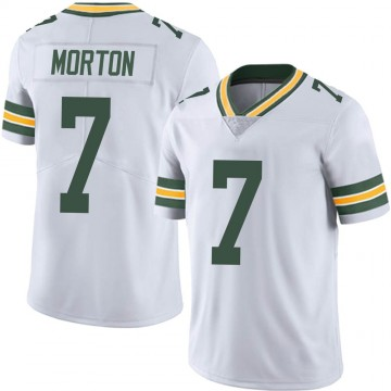 Youth Nike Green Bay Packers Jalen Morton White Vapor Untouchable Jersey - Limited