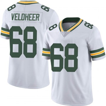 Youth Nike Green Bay Packers Jared Veldheer White Vapor Untouchable Jersey - Limited