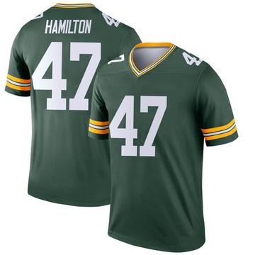 Youth Nike Green Bay Packers Javien Hamilton Green Jersey - Legend