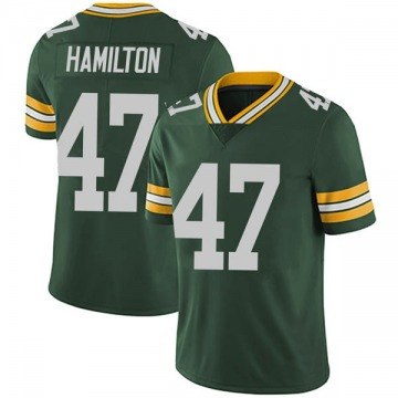 Youth Nike Green Bay Packers Javien Hamilton Green Team Color Vapor Untouchable Jersey - Limited